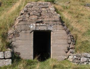 Bunkers. Bildedato: 3. september 2000