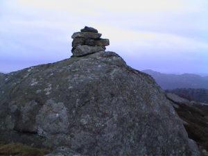 Vaktpost Lindåsen. Bildedato: 28. januar 2001