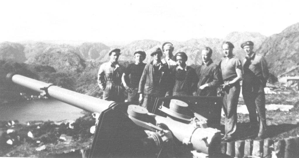 10.5 cm Schneider feltkanon, Bildedato: 1950.  Copyright: FM.