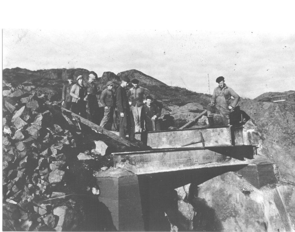 Steinknuser, Bildedato: 1940-1945.  Copyright: FM
